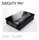 Description: SIM2 xTV INV User Manual - EN